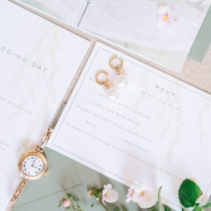 Close Up of Sophie & Nick's Wedding Stationery Suite