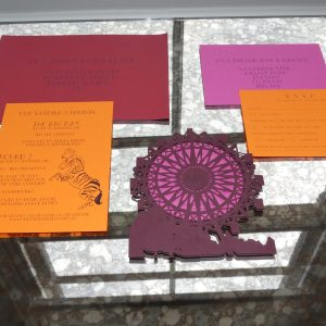 Christine & Alan's - Laser Cut Wedding Stationery Suite