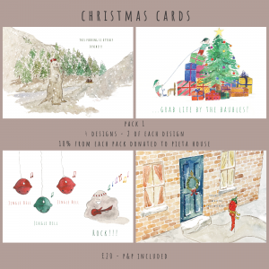 Christmas Card Pack 1