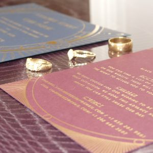 Gatsby Art Deco Invitations 2
