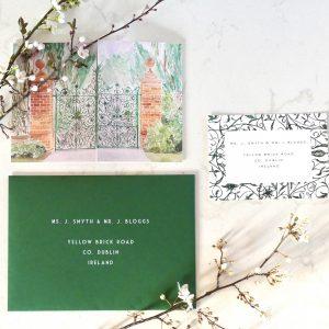 Tankardstown Walled Garden Invitation 3